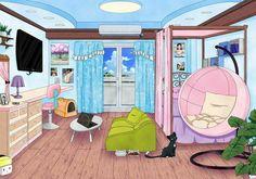 Cosas para tu RD anime - 1: Habitaciones