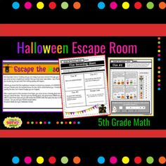 Thank you so much for your interest in one of my designs!This Digital and Printable Math Escape Room is compatible with Google Slides and can be used on any device that supports Google Apps. It will download as a PDF with link(s) that will prompt you to make a copy of the files. You can then open a...