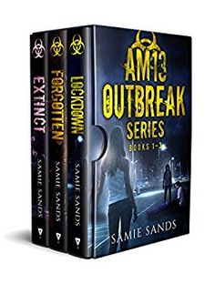 Sapphyria's Books: Box Set Spotlight & #Giveaway ~ AM13 Outbreak Series: Books 1-3 vy Samie Sands ~ Zombie Horror @SamieSands