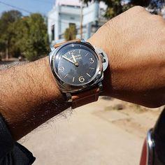 79fd34d12aae Great  wristshot from our Facebook follower Arunachala Heart!  wristie   panerai  paneraiwatch
