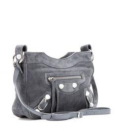Classic Hip Suede Shoulder Bag 67