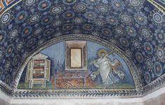 www.school.edu.ru :: Св. Лаврентий. Мозаика южного люнета мавзолея Галлы Плацидии в Равенне