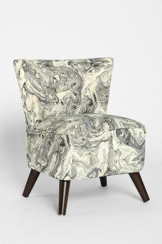 Marbleized Chair