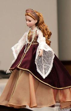 Rare poupée mannequin Ellowyne   LA MÉLANCOLIQUE DU CHATEAU   de R. Tonner