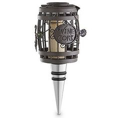 The Original CORK CAGE® - Barrel Bottle Stopper by Epic Products