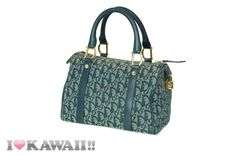 Authentic Christian Dior Trotter Boston Bag 25 Hand Purse Free Shipping! #ChristianDior #BostonBag