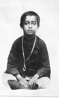 Picture: Yogananda as a child