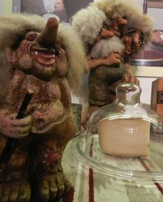 Magical & mythical trolls play a large part in Norwegian legends & culture.