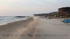 Beach from Morjim to Ashvem, Goa, India