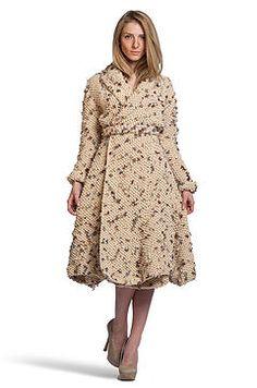 Dashina knit coat