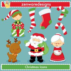 Merry Christmas!!! These cute little Christmas icons are ready for the merriment of the season! Popular Christmas graphics for the perfect cards, tote bags and monogramming! This set is wonderful for party invitations and notepads! The simple lines are great for embroidery as well!    Formats:  EPS (editable with Illustrator, Corel Draw and Freehand), 300dpi JPEG files, and 300dpi transparent PNG files