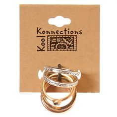 7pc Mixed Stackable Rings