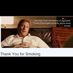 Thank You for Smoking Summary & Study Guide