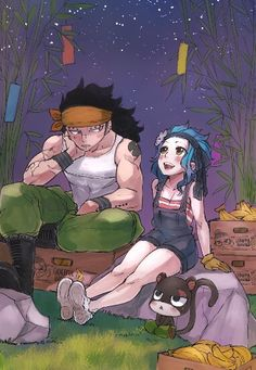 Gajeel y Levy Fairy tail. Gale Fairy Tail, Fairy Tail Amour, Anime Fairy Tail, Fairy Tail Guild, Fairy Tail Ships, Fairy Tales, Moe Anime, Anime Manga, Manga Art