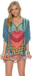 TOLANI BLUE BONNIE TUNIC > Womens > Clothing > Dresses | Swell.com