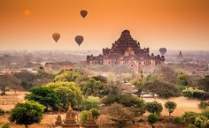 Dhammayangyi Pahto at Sunrise, Bagan, Myanmar | Flickr - Photo Sharing!