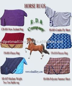 We Are Manufacturers Of All Types Horse Rugs Summer Turnout