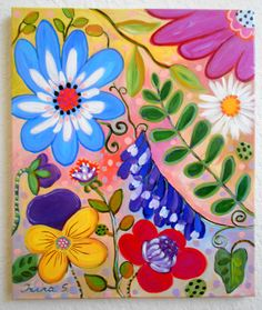 whimsical flowers - Google Search