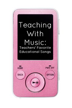 Teaching With Music: Teachers' Favorite Educational Songs #weareteachers