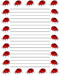Sweethearts free printable stationery for kids, Regular lined hearts free printable kids writing paper