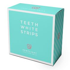Spotlight teeth whitening strips are an easy to use at home teeth whitening system. They contain hydrogen peroxide, making them an effective way to brighten your smile.[woocs width='50%']