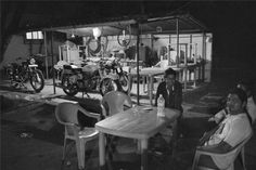 #Motorcycle #club (#small #town #india)   #titwala #thane #india #monochrome #streetphotography