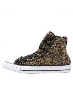 Converse - CHUCK TAYLOR ALL STAR - Sneakers hoog - gold/black/white