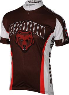 NCAA Brown Mens Cycling Jersey White Medium *** Details can be found by clicking on the image.Note:It is affiliate link to Amazon.