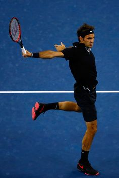 Roger Federer Photos: 2014 U.S. Open - Day 11. I love his smoothness on the court