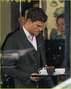 First 'Fifty Shades of Grey' Scenes! | Dakota Johnson, Fifty Shades of Grey, Jamie Dornan Photos | Just Jared