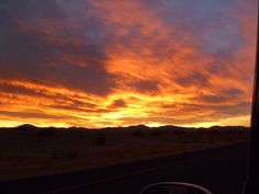 I took this in the van on the way to California. No editing. :)