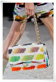 Bolsas Chanel verão 2014 my heart is made of watercolors :))))
