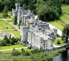 Castles & Manor Houses | Ashford Castle, Border of County Galway and County...