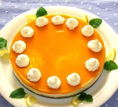Mango cheesecake, my absolut favorit cheesecake, but I do this cake my own style, I don't do it like this recipe says Food N, Food And Drink, Finnish Recipes, Fruit Sauce, Mango Cheesecake, Sweet Pastries, Orange Recipes, Piece Of Cakes, Dessert Recipes