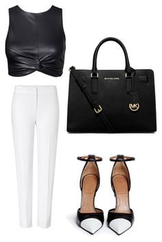 """Без названия #7"" by roxanammk on Polyvore featuring мода, ESCADA, Givenchy и MICHAEL Michael Kors"