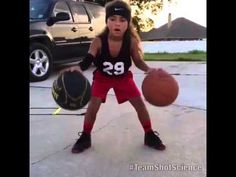 Jaliyah Manuel 6 YEAR OLD GIRL IS THE NEXT STEPH CURRY! Shot Science Basketball Facebook - YouTube