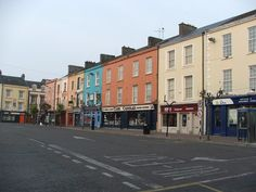 Dungarvan Main Square ~ Abbeyside, County Waterford, Ireland