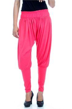 Adam n' eve Pink Jodhpuri Viscose Salwar @ Rs.399 only