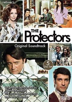 The Protectors, starring Robert Vaughn, Tony Anholt and Nyree Dawn Porter, 1972-73. Marvelous theme song, Avenues and Alleyways, sung by Tony Christie