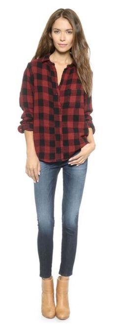 Rag&bone flannel shirt
