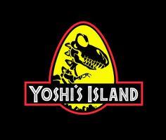 My shopping list gets longer and longer - Yoshi's Island T-Shirt Design by  Damn Designs.