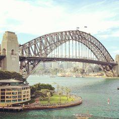 Beautiful shot of the Sydney harbour bridge. #sydneyharbourbridge #sydney #nsw #stunningview #beautiful #australia #travel