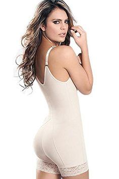 163e5eed9e ATENAS ZIPPER BOOTY SHORTS BODY SHAPER at Amazon Women s Clothing store