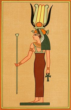 Photo The Gods of the Egyptians 1904 The goddess Isis Sept Print Poster Old Egypt, Ancient Egypt, Isis Goddess, Canvas Artwork, New Image, Photo Puzzle, Jigsaw Puzzles, Religion, Poster Prints