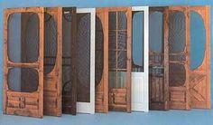 Unique Screen Doors | you call we screen custom wooden screen doors are a great way to cool ...