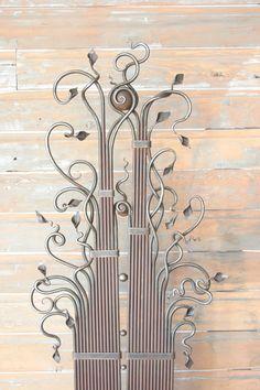 Hand Forged Metal Rod Fine Art Panel