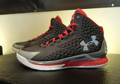 2015 Over off Shoes For Cheap Steph Curry Under Armour Curry 1 The Underdog Black Red Cheap Under Armour, Under Armour Shoes, Curry One, Nike Shoes, Shoes Sneakers, Duke Blue Devils, Red And Grey, Black, Shoe Sale