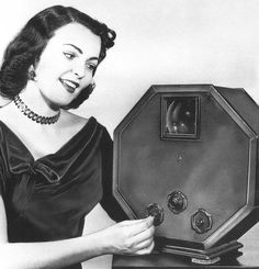 """The Octagon"" - an early television set"