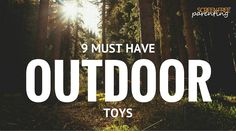 Say no to screen time with these essential screen-free outdoor toys that won't cost you a dime. Outdoor Toys For Kids, Outdoor Activities For Kids, Preschool Activities, Outdoor Stuff, Teaching Tools, Must Haves, Kids Toys, Parenting, News Articles