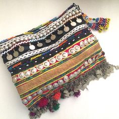 GR embellished clutch.